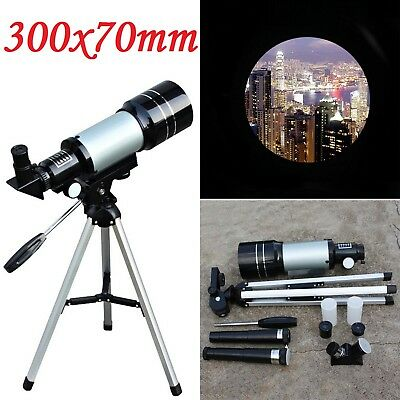 HOT F30070M Monocular Space Astronomic Pro Reflector Telescope Tripod Night 150X