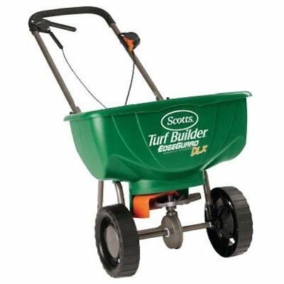 Turf Builder Edgeguard Deluxe Broadcast Spreader by Scotts (S1n)