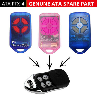 securacode ATA  remote control compatible garage/gate door replacement PTX-4