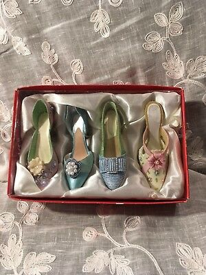 Jcpenney Shoe Ornament Lot Of 4