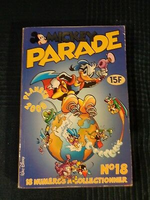 livre enfant mickey parade   n 253   2000 editions hachette dysney
