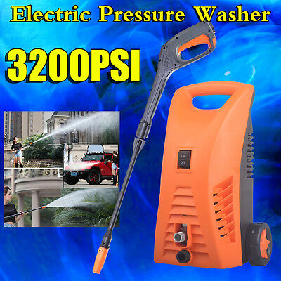 3200PSI Electric High Pressure Cleaner Washer Gurney Water Pump Spray Gun Hose