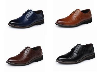 Men Office Work Smart Formal Shoes Wedding Party Casual Pointed Dress Size 2538