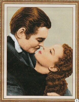 Gone with The Wind Cross Stitch Chart FREE POST