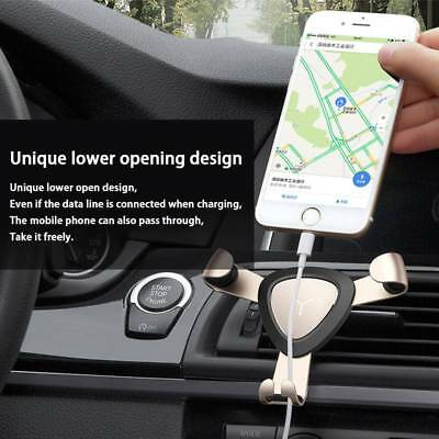 Universal Gravity Car Air Vent Mount Phone Holder For iPhone 6 7 8 X Samsung LG