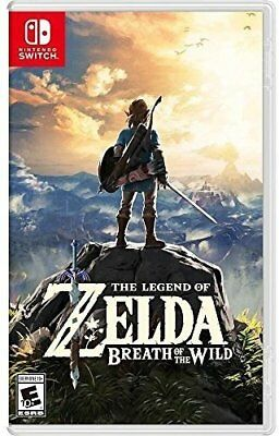 New Breath of the Wild The Legend of Zelda Switch 100 Trials to discover explore