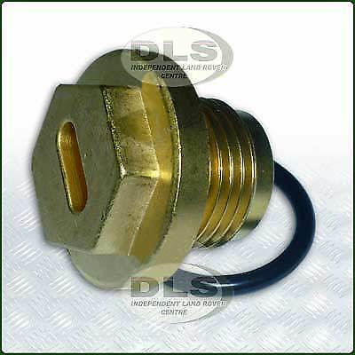 Brass Thermostat/Radiator Bung Land Rover Defender (DLS284)