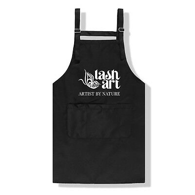 LashArt ARTIST BY NATURE Strap Apron with Pocket Eyelash Extension Salon Apron