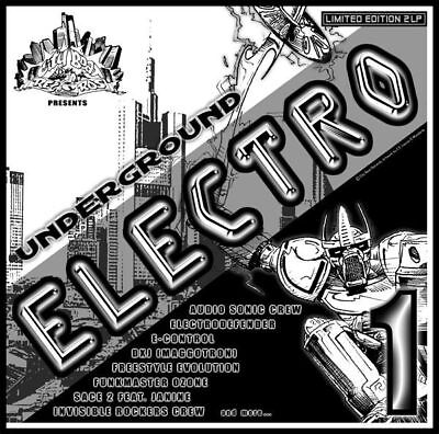 CBR UNDERGROUND ELECTRO VOL.1/Bass,Electro,Rap,Funk,VOCODER*Breakdance 2010*TOP*