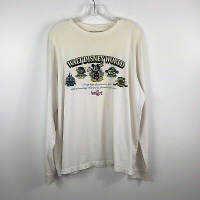 Walt Disney World XL Long Sleeve T-Shirt It all started with a mouse Parks Off w