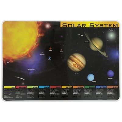 Painless Learning Placemat: Solar System