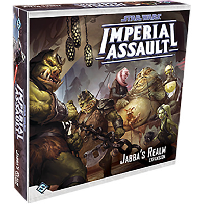 Star Wars Imperial Assault: Jabba's Realm Expansion (Sealed) NEW