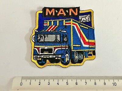 1a Aufnäher Patch Truck Trucker MAN