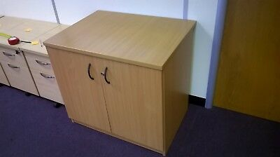 Desk height double office Filing cupboard without Keys