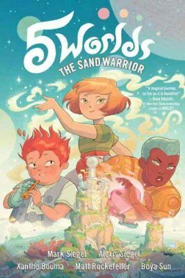 5 Worlds Book 1: The Sand Warrior by Mark Siegel, Alexis Siegel (Paperback,...