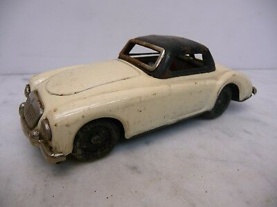 Tiny Giant MGA Roadster creme Blech Made in Japan Friktion Rarität 60er Jahre