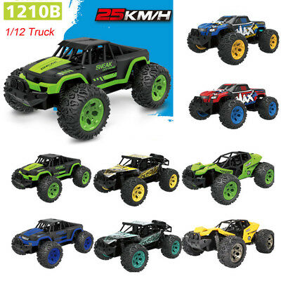 1:12 2.4G Remote Control 2WD Off-Road Monster Truck Powerful RTR RC Car Truck