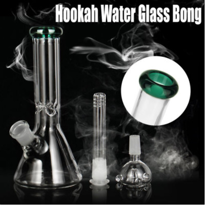 Hookah Water Glass Bong Smoking Pipes Glassware Shisha Tobacco Tools Bowl AU
