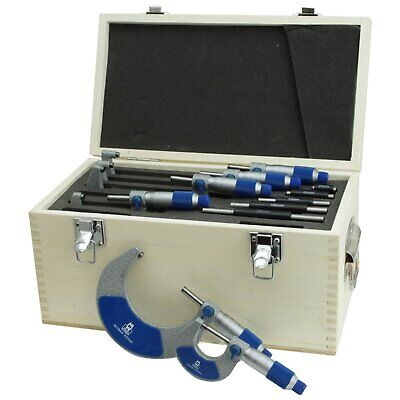 Moore and Wright 0-150mm Micrometer Set External Metric Analogue MW215-03BL