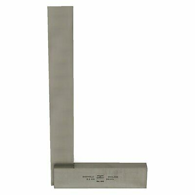 """Moore & Wright 300mm 12"""" Precision Engineers Square Measuring Face 400-12"""
