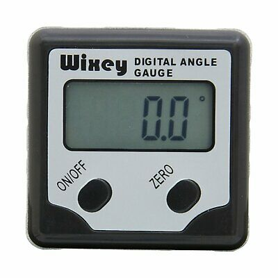 Digital Angle Gauge Protractor Inclinometer Gage Accurate Measuring Wixey WR300