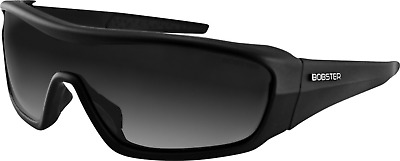 Bobster Enforcer Wrap Around Motorcycle Sunglasses Black with 3 Anti-Fog Lenses