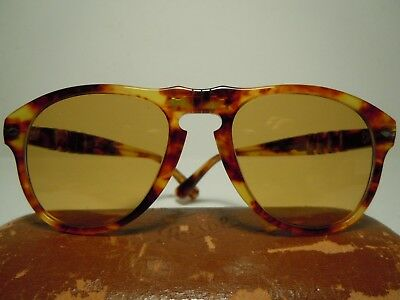 PERSOL 649/2 McQueen Meflecto Vintage 80's Cal.52 By RATTi Torino With case