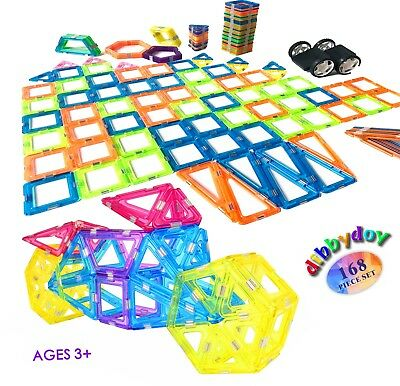 Magnetic Building Block Toy Set - Magnet Toys to Develop Kid's Creativity