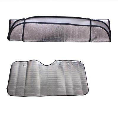 1pc Casual Foldable Universal Car Windshield Visor Cover Front Rear Block Window