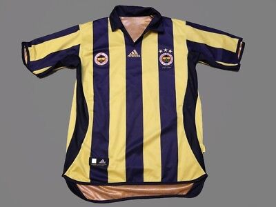 Fenerbahce 2006-07 Centenary Bilateral Shirt Camiseta Adidas Adults Size M