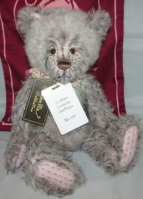 SPECIAL OFFER! 2018 Charlie Bears Mohair CADEAUX - Number 234 of 250 RRP £185
