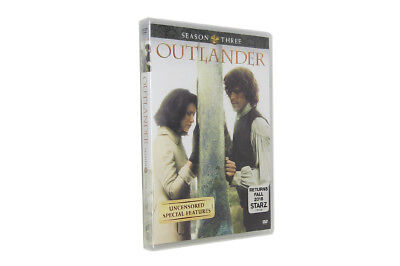 Outlander Season 3 (DVD, 2018, 5-Disc Set) Brand New and Free Shipping