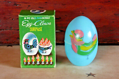 Shackman Old Fashioned Egg Clown Surprise Novelty Easter Egg ~ Easter Decoration