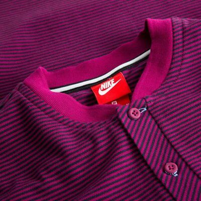 2017-2018 Man City Nike Authentic Grand Slam Polo Shirt (True Berry) - L