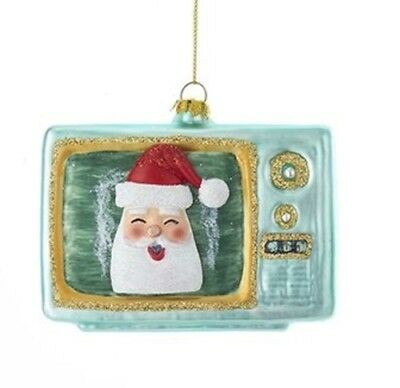 Holiday Ornaments BOB ROSS PAINT BRUSH Glass Ornament Artist TV Show Bo4183