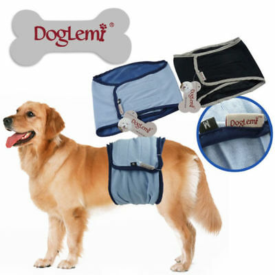 Male Dog Puppy Nappy Diaper Belly Wrap Band Sanitary Pants Underpants XTRA SMALL