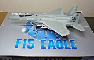 Franklin Armour Collection F15 EAGLE US Air Force USAF 1:48 die cast in box