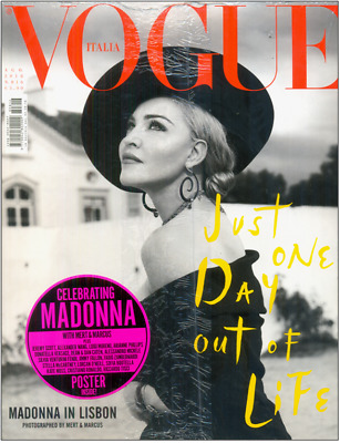 Madonna - Vogue Italia - N.816 August 2018 - Cover N°1 - Brand New Sealed!!!