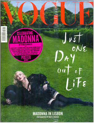 Madonna - Vogue Italia - N.816 August 2018 - Cover N°2 - Brand New Sealed!!!