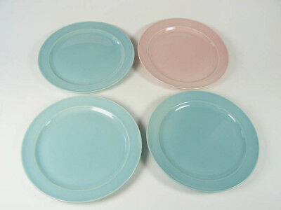"""Taylor Smith Taylor-LuRay - Four (4) - 9 1/4"""" Dinner Plates 3b-1p- Excellent!"""