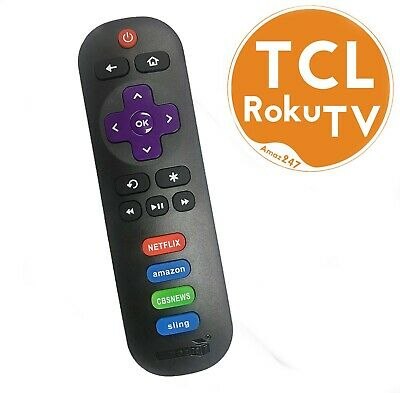 Amaz247 TCL Roku TV Replacement Remote RC280 w/volume control button