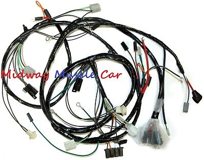 Front End Headlight Headlamp Wiring Harness 66 Chevy Impala Caprice