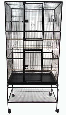 "Flight Bird Cage Detachable Stand 69"" x 32.5"" x 19"""