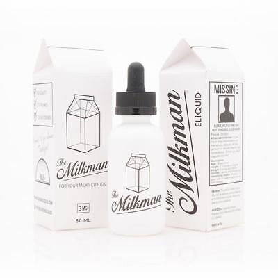 The Milkman E Liquid 50ml 0mg/3mg Premium American E Juice
