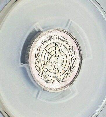 1970 25 Pesetas Equatorial Guinea Silver Proof Coin Km-6 Pcgs Pr67Dcam Color