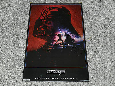 Laminated Star Wars Return of The Jedi Collector's Edition 21 x 32 Poster