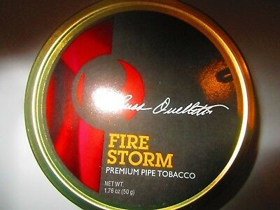 RO BLENDS FIRE STORM SEALED Collectible Pipe Tobacco Tin  Holds 1.75 OZ.