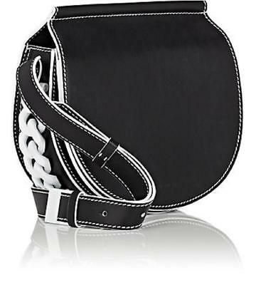 Givenchy Infinity Mini Saddle Black Leather Shoulder Bag MSRP $1990