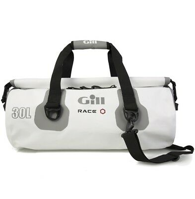 Gill 30L Waterproof Race Team Bag - White Color