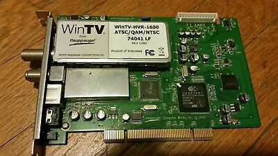 HAUPPAUGE WINTV HVR-1600 NTSCATSC TREIBER WINDOWS 8
